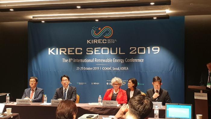 """키민스 RE100 대표 """"단기적 에너지 전환 비용 문제 안돼"""""""