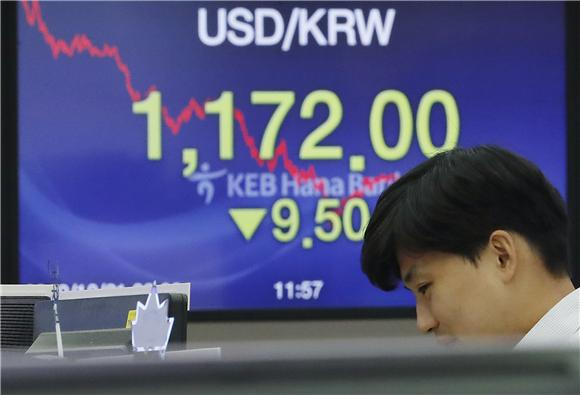 10월 외국인자금 5.9억달러 순유출…채권자금 유출 영향